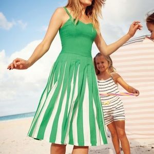 CANDY-COLORED PLEATED MATILDA DRESS by Boden